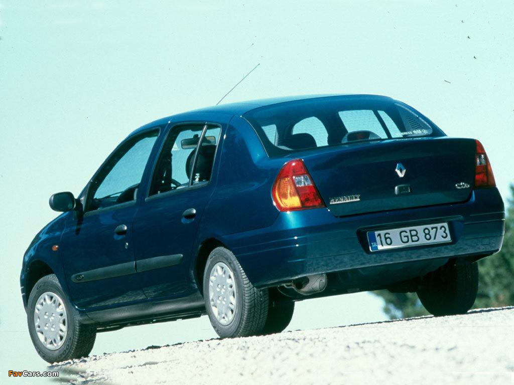 Renault Clio Symbol 1999–2002 wallpapers (1024 x 768)