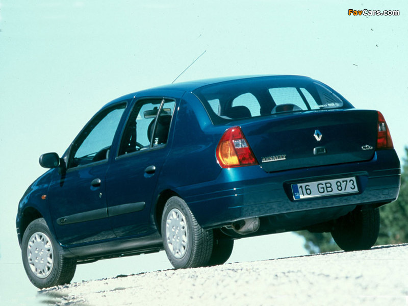 Renault Clio Symbol 1999–2002 wallpapers (800 x 600)