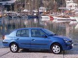 Renault Clio Symbol 2001–08 pictures