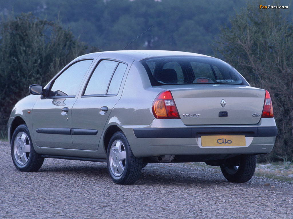 Renault Clio Symbol 2001–08 wallpapers (1024 x 768)