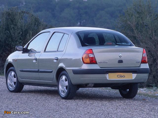 Renault Clio Symbol 2001–08 wallpapers (640 x 480)
