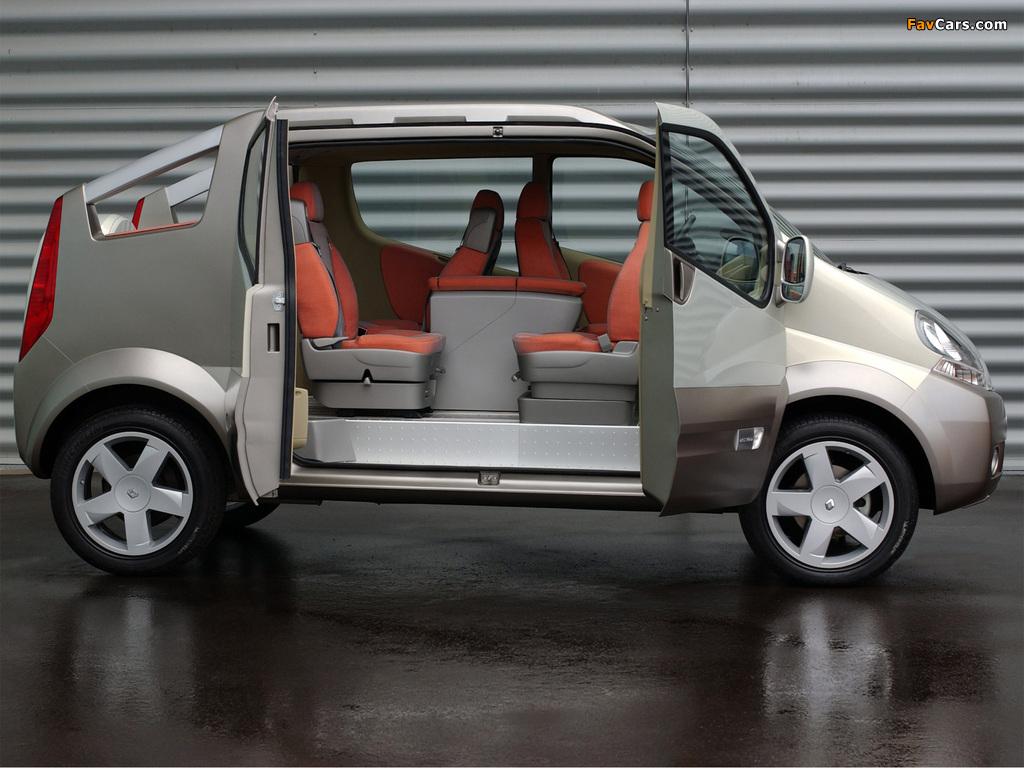 Photos of Renault Trafic Deckup Concept 2004 (1024 x 768)