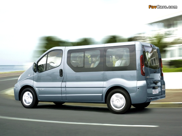 Pictures of Renault Trafic 2006–10 (640 x 480)