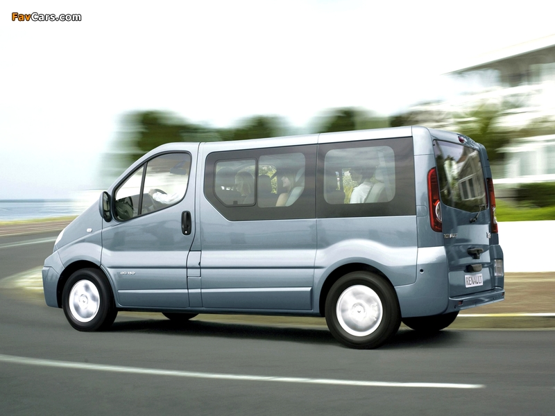 Pictures of Renault Trafic 2006–10 (800 x 600)