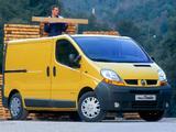 Renault Trafic Van 2001–06 images