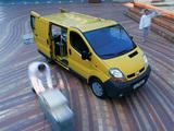 Renault Trafic Van 2001–06 wallpapers