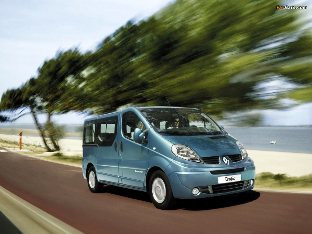 Renault Trafic 2006–10 wallpapers (1024 x 768)
