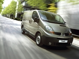 Renault Trafic Van 2006–10 wallpapers