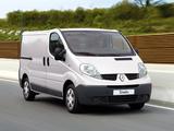 Renault Trafic Van 2010 pictures