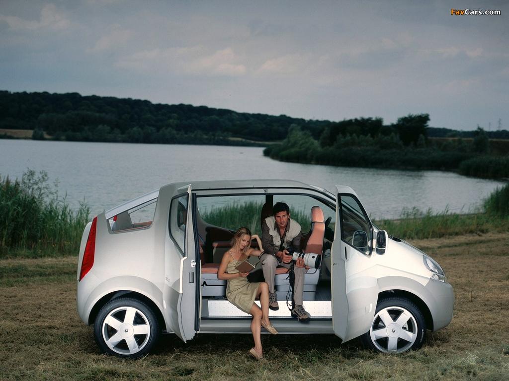 Renault Trafic Deckup Concept 2004 images (1024 x 768)