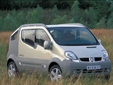 Renault Trafic Deckup Concept 2004 pictures