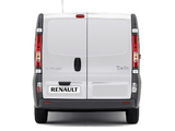 Renault Trafic LWB Van 2010 wallpapers