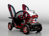 Pictures of Renault Twizy Z.E. by Cathy & David Guetta 2012