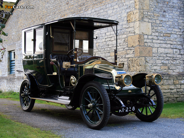 Renault Type BX 14/20 HP Limousine by Henry Binder 1909 photos (640 x 480)