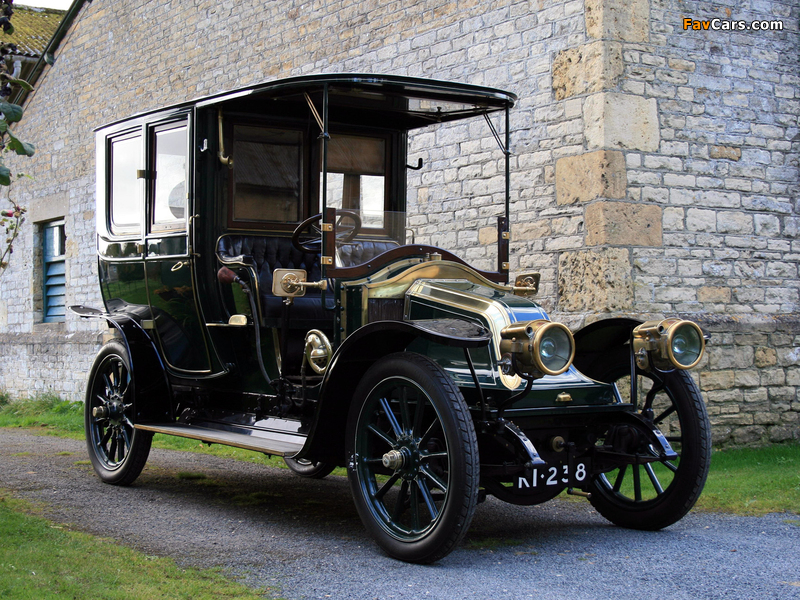 Renault Type BX 14/20 HP Limousine by Henry Binder 1909 photos (800 x 600)