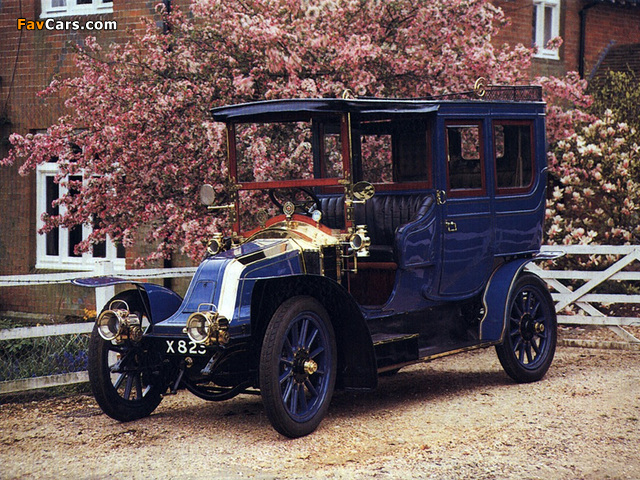 Photos of Renault Type V 20/30 HP Limousine 1906 (640 x 480)