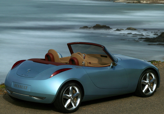 Renault Wind Concept 2004 Photos
