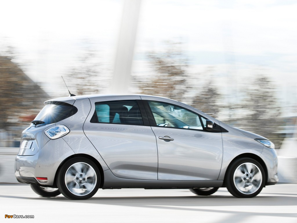 Images of Renault Zoe Z.E. 2012 (1024 x 768)
