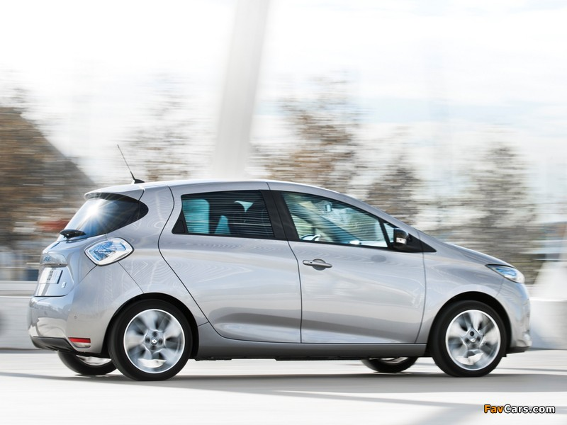 Images of Renault Zoe Z.E. 2012 (800 x 600)