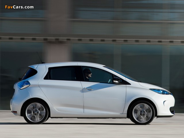 Pictures of Renault Zoe Z.E. 2012 (640 x 480)