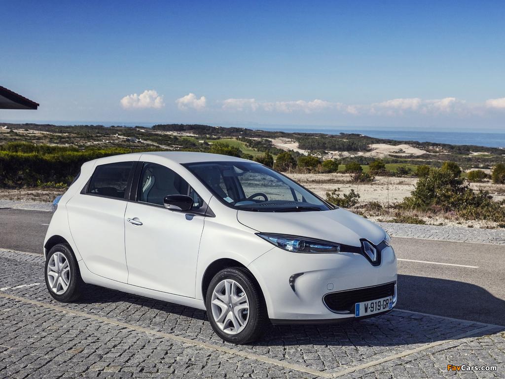 Renault Zoe Z.E. 2012 images (1024 x 768)