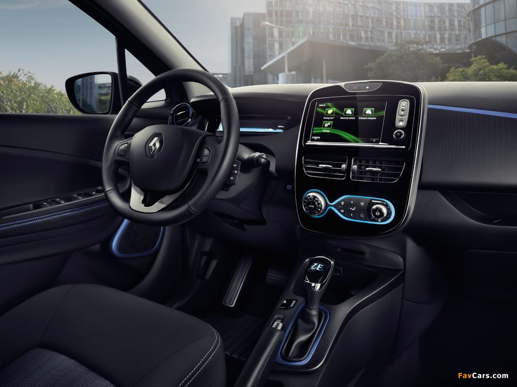 Renault Zoe Z.E. 40 2016 photos (1024 x 768)