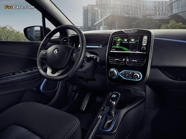 Renault Zoe Z.E. 40 2016 photos (640 x 480)
