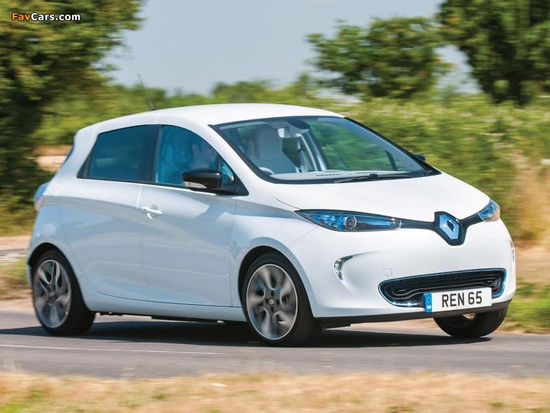 Renault Zoe Z.E. UK-spec 2013 wallpapers (800 x 600)