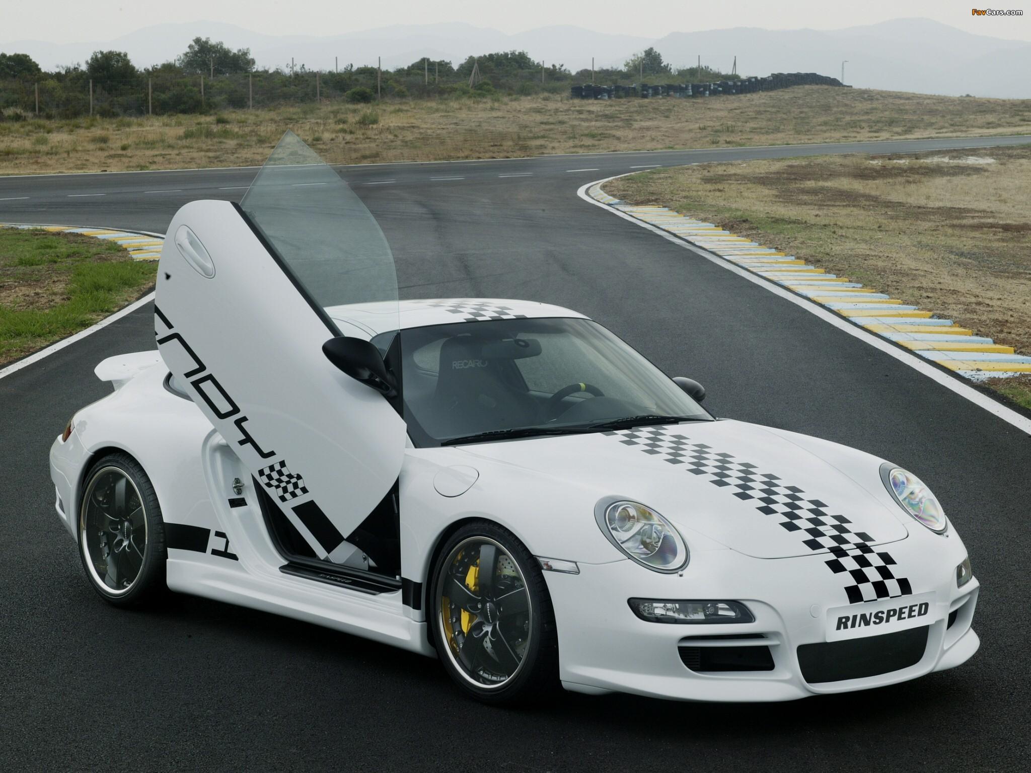 Photos of Rinspeed Porsche Indy (997) 2005 (2048 x 1536)
