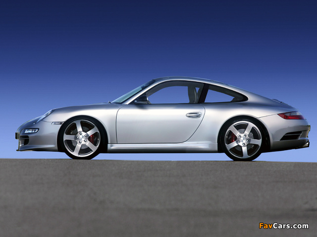 Photos of Rinspeed Porsche 911 Indy 4S (997) 2006–08 (640 x 480)