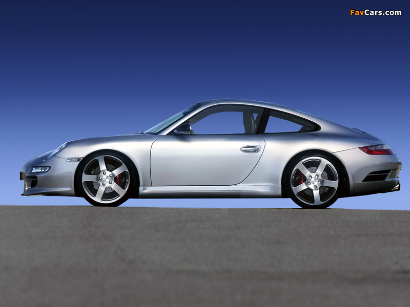 Photos of Rinspeed Porsche 911 Indy 4S (997) 2006–08 (800 x 600)