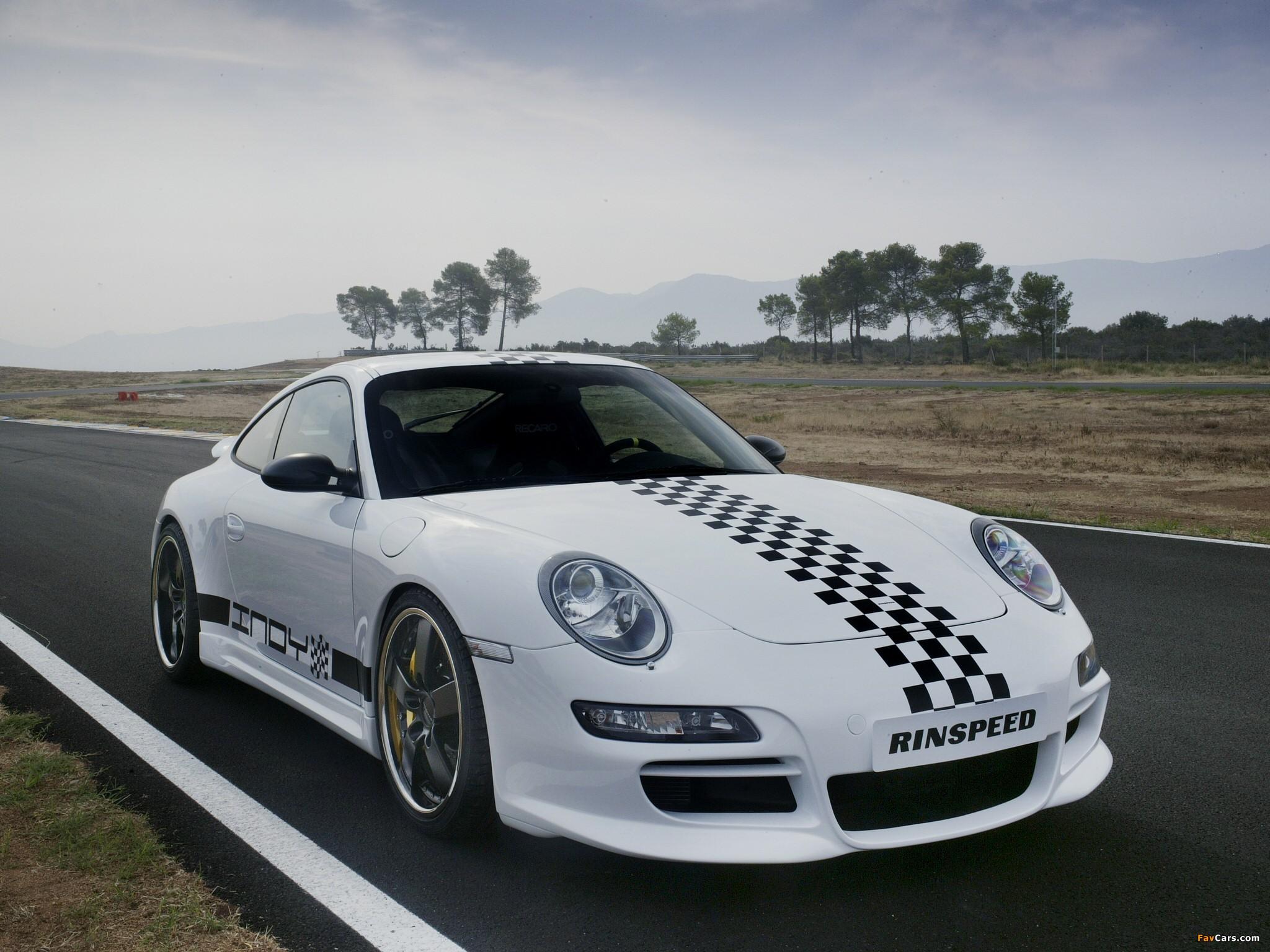 Pictures of Rinspeed Porsche Indy (997) 2005 (2048 x 1536)