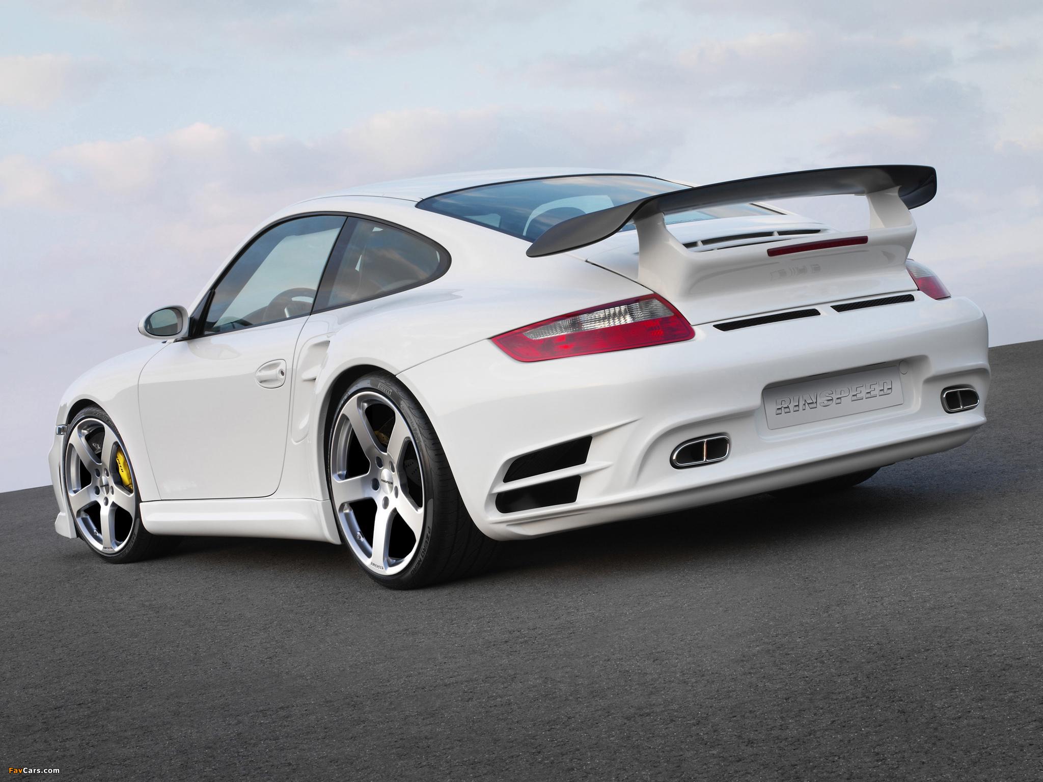 Rinspeed LeMans based on Porsche 911 Turbo (997) 2007 photos (2048 x 1536)