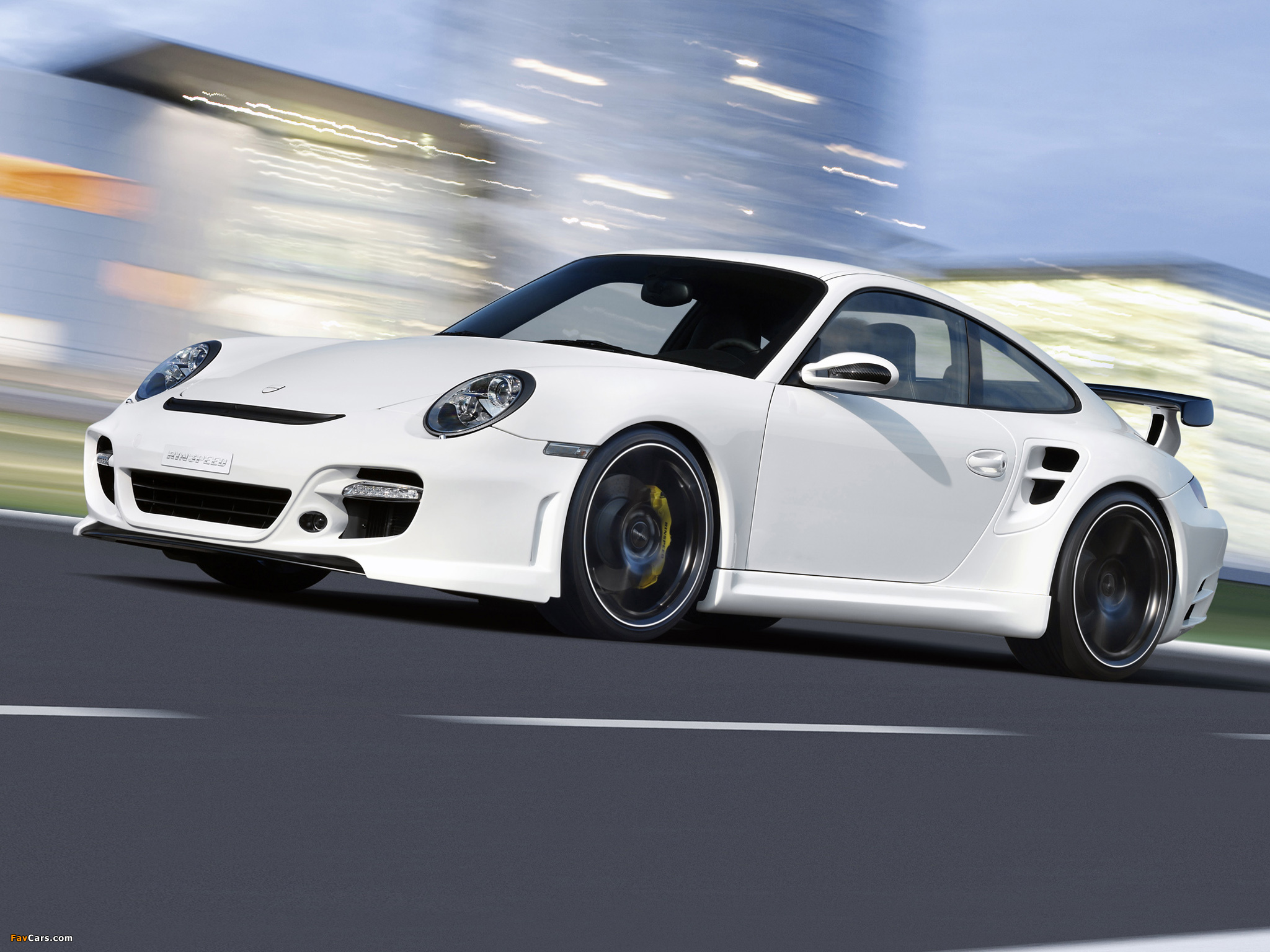 Rinspeed LeMans based on Porsche 911 Turbo (997) 2007 pictures (2048 x 1536)