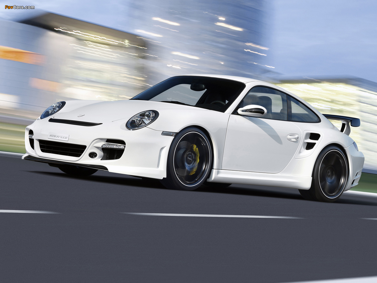 Rinspeed LeMans based on Porsche 911 Turbo (997) 2007 pictures (1280 x 960)