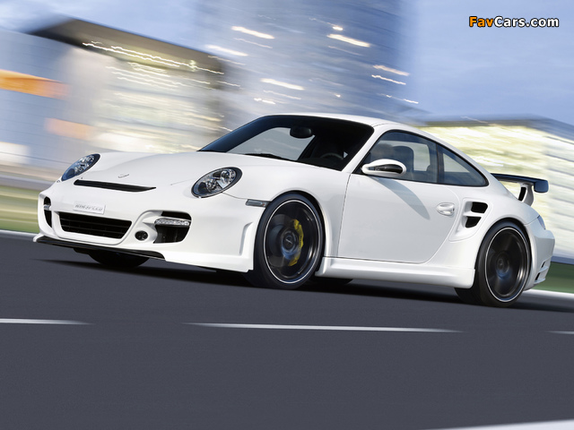 Rinspeed LeMans based on Porsche 911 Turbo (997) 2007 pictures (640 x 480)