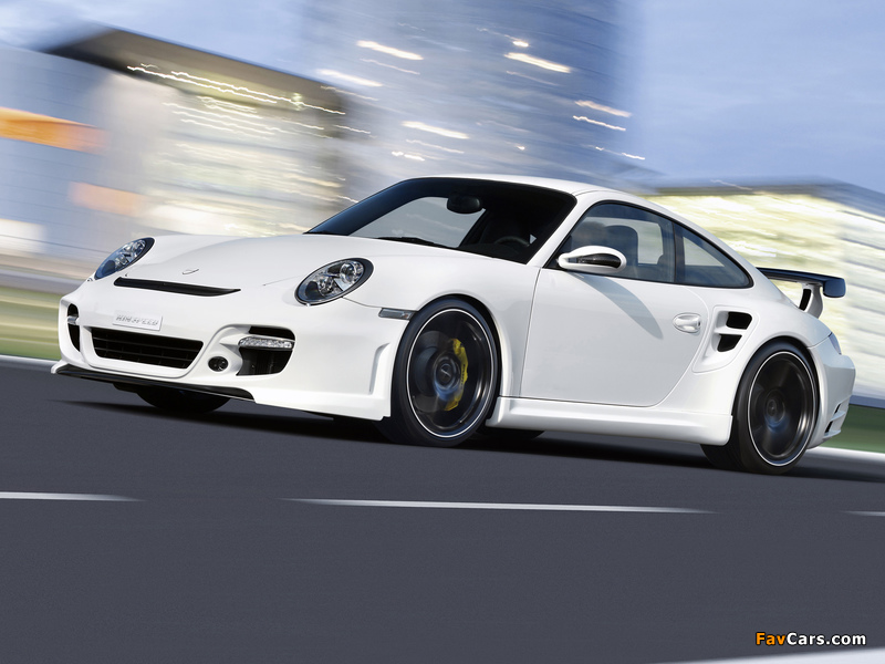 Rinspeed LeMans based on Porsche 911 Turbo (997) 2007 pictures (800 x 600)