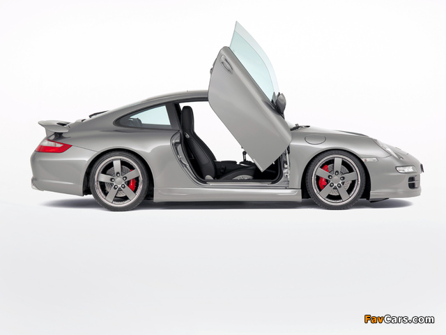 Rinspeed Porsche 911 Carrera Coupe (997) pictures (640 x 480)