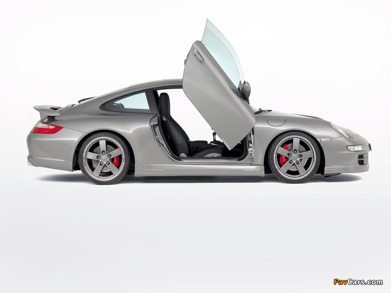 Rinspeed Porsche 911 Carrera Coupe (997) pictures (800 x 600)