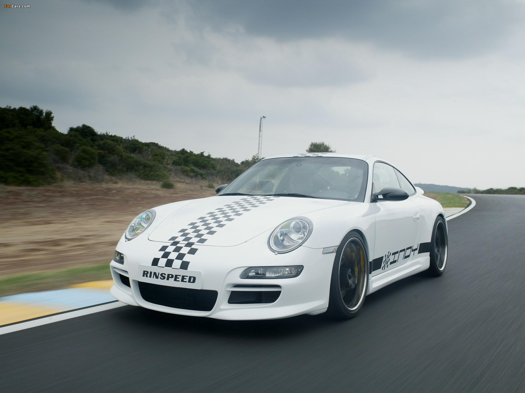 Rinspeed Porsche Indy (997) 2005 pictures (2048 x 1536)