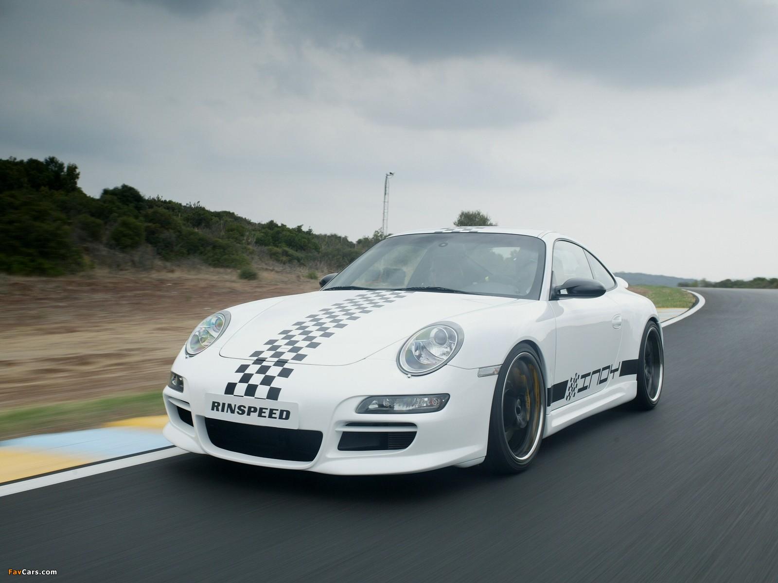 Rinspeed Porsche Indy (997) 2005 pictures (1600 x 1200)