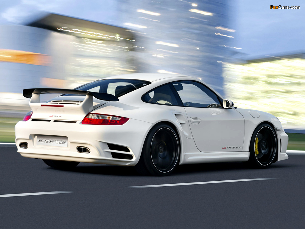 Rinspeed LeMans based on Porsche 911 Turbo (997) 2007 pictures (1024 x 768)
