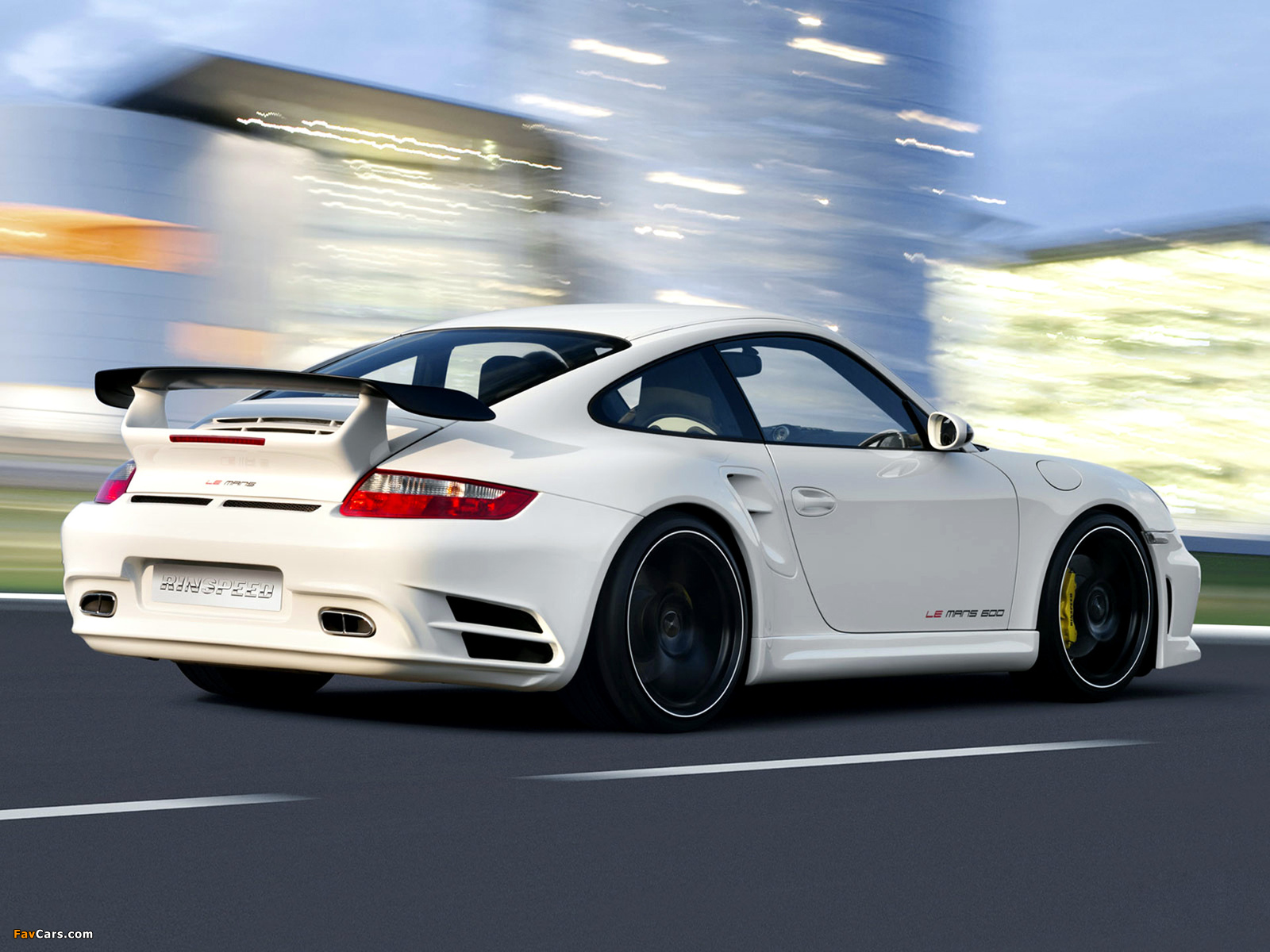 Rinspeed LeMans based on Porsche 911 Turbo (997) 2007 pictures (1600 x 1200)