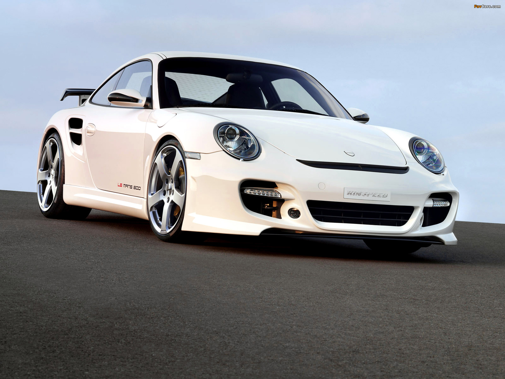 Rinspeed LeMans based on Porsche 911 Turbo (997) 2007 wallpapers (1920 x 1440)