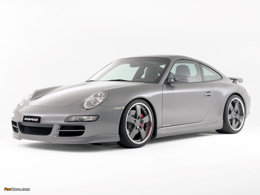 Rinspeed Porsche 911 Carrera Coupe (997) wallpapers (1024 x 768)