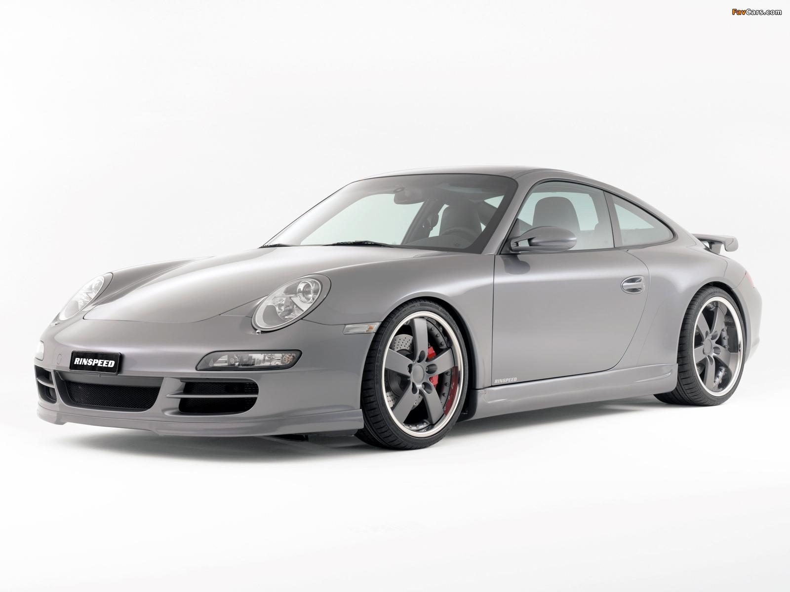 Rinspeed Porsche 911 Carrera Coupe (997) wallpapers (1600 x 1200)
