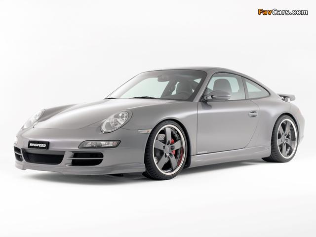 Rinspeed Porsche 911 Carrera Coupe (997) wallpapers (640 x 480)