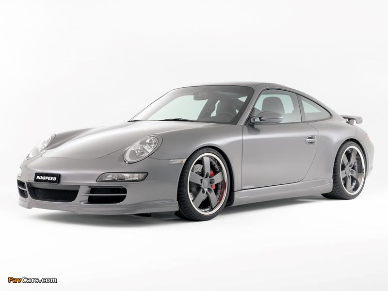 Rinspeed Porsche 911 Carrera Coupe (997) wallpapers (800 x 600)