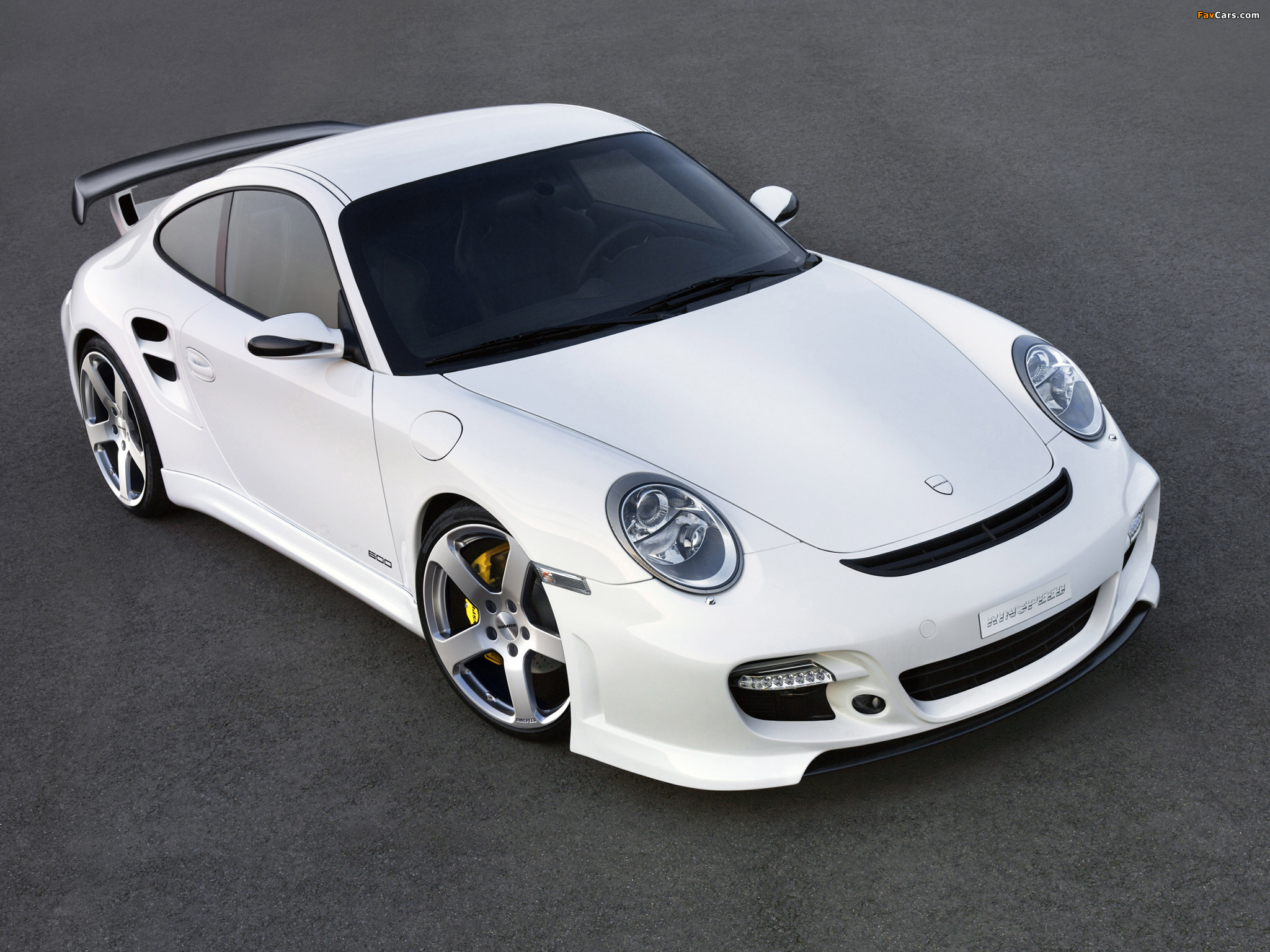 Rinspeed LeMans based on Porsche 911 Turbo (997) 2007 wallpapers (2048 x 1536)
