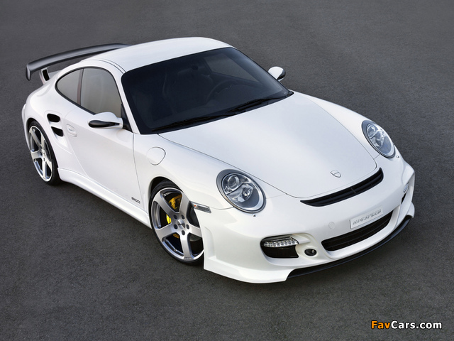 Rinspeed LeMans based on Porsche 911 Turbo (997) 2007 wallpapers (640 x 480)